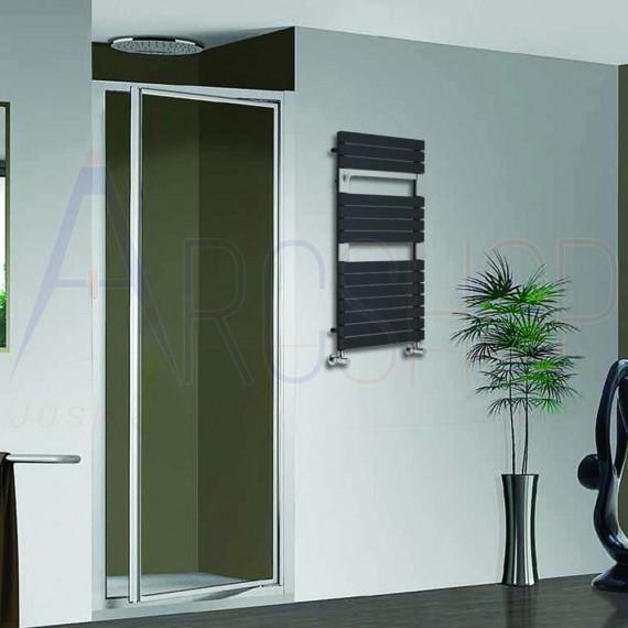 Termoarredo Way By Lazzarini design Torino Antracite 952X550 mm combinato 383749