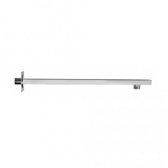 Braccio doccia a parete lunghezza 40 cm con fissaggio rinforzato Jacuzzi | rubinetteria rettangolare 3,5x1,5 cm 1111078JA00