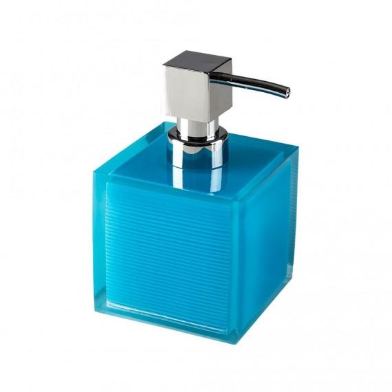 Dispenser da appoggio in resina poliacrilica trasparente blue Serie Billy di Cipì