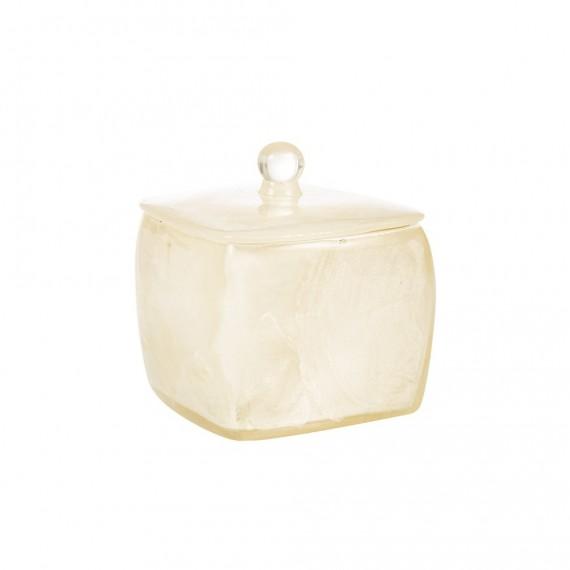 Porta cotone Cipì serie Perla con inserti madreperla