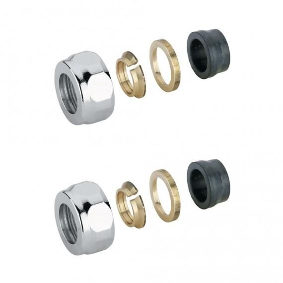 Coppia riduttori 3/4 EK 14 mm per rame