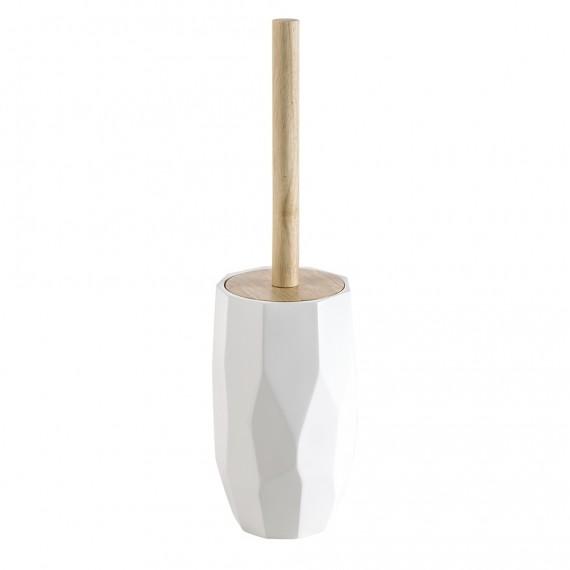 Scopino da appoggio in solid surface e bamboo di Cipì