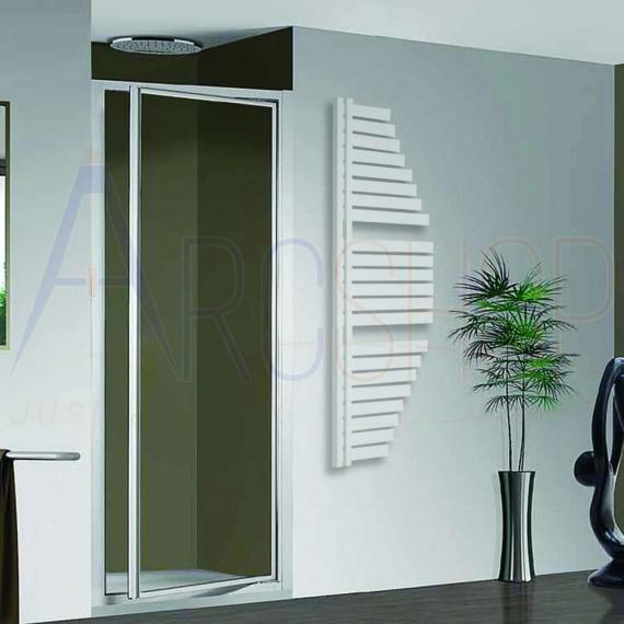 Spinnaker Termoarredo by Lazzarini 1460X547 mm bianco installazione reversibile design vela 383757