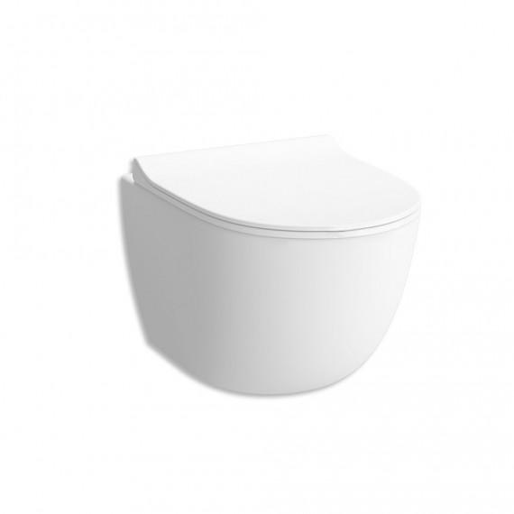 WC Vitra Sento sospeso bianco opaco scarico rimless cod. 7748B001-0101