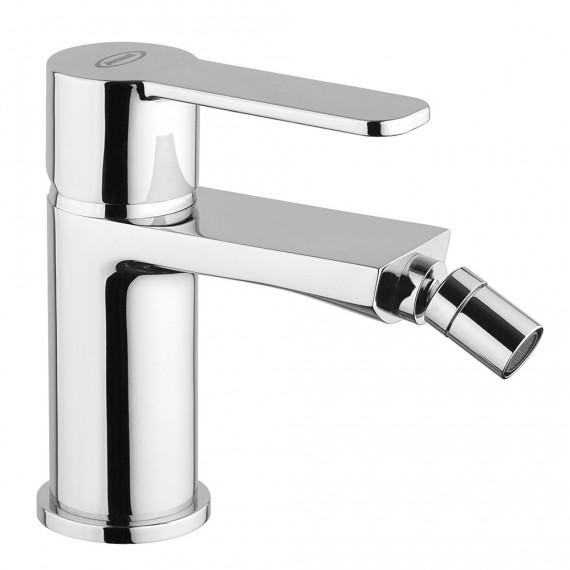 Set miscelatori lavabo alto + bidet + incasso doccia con deviatore Jacuzzi | rubinetteria Eolo ottone cromato per piletta clic clac