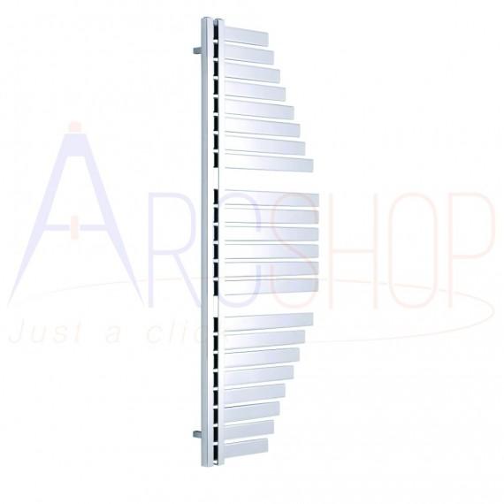 Spinnaker Termoarredo by Lazzarini 1460X547 mm cromo installazione reversibile design vela 383764