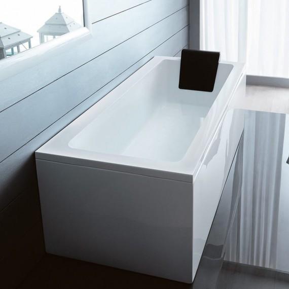 Vasca da bagno 150 x 75 cm basamento mod. Quadra Treesse