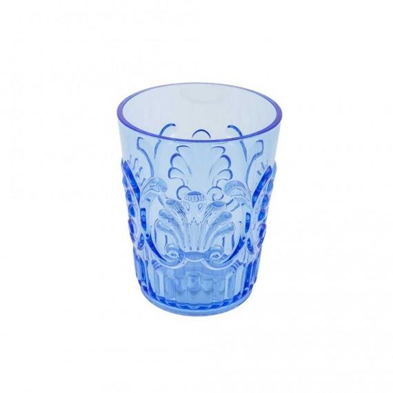 Set 3 pezzi Jolie Zaffiro Cipì Dispenser Bicchiere e Porta sapone