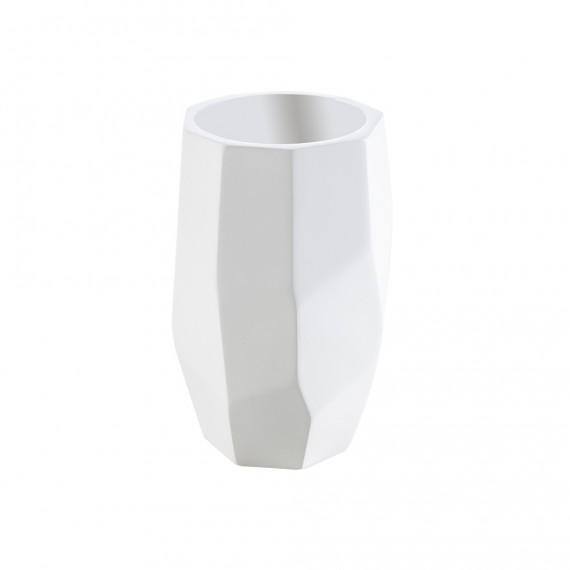 Set accessori da bagno 4 pezzi surface Bamboo di Cipì Dispenser Bicchiere Porta sapone e Vassoio