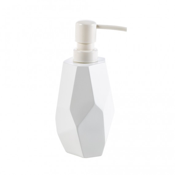 Set da appoggio 3 pezzi surface Bamboo di Cipì Dispenser Bicchiere e Porta sapone