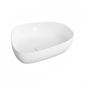 Lavabo da appoggio design Outline Pebble di Vitra sanitari