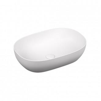 Lavabo da appoggio Ovale Vitra sanitari Bianco opaco da 60 cm 5995B401-0016