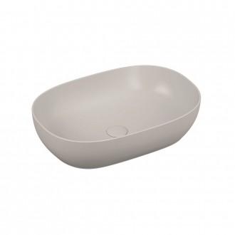 Lavabo da appoggio Vitra ovale 60 cm bianco lucido 5995B403-0016