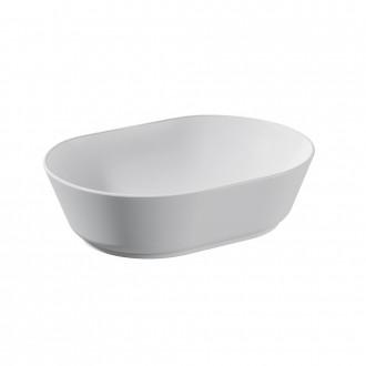 Lavabo da appoggio ovale Vitra Bianco lucido 55 cm ceramica