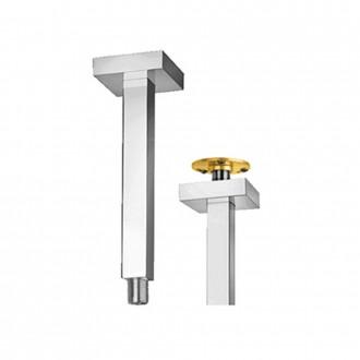 Braccio doccia a soffitto squadrato 2,5X2,5 cm con fissaggio rinforzato Jacuzzi | rubinetteria lunghezza 20 cm 1111070JA00