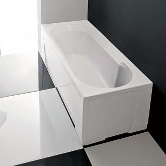 Vasca da bagno Cristina Gruppo Treesse 140 cm basamento