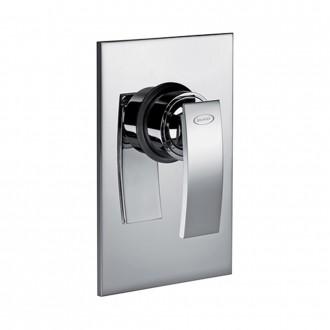 Miscelatore doccia incasso monoleva Jacuzzi | rubinetteria Glint ottone cromato 0IQ00410JA00