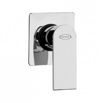 Miscelatore doccia incasso monoleva Jacuzzi|  rubinetteria Twilight ottone cromato 0TI00410JA00