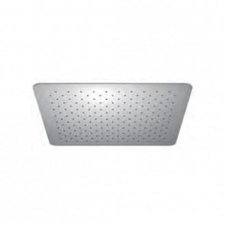 Soffione Jacuzzi | rubinetteria ultrapiatto quadrato 30X30 cm anticalcare in acciaio inox 1811056JA00