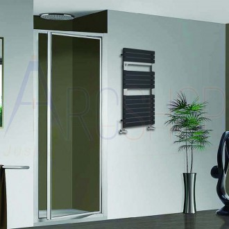 Termoarredo Way By Lazzarini design Torino Antracite 952X550 mm combinato 383749