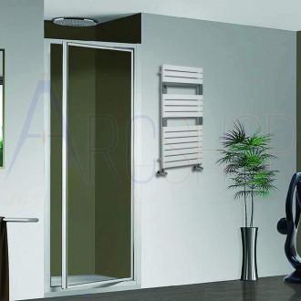 Termoarredo Lazzarini combinato Torino 952X550 mm Bianco sabbiato design 383747