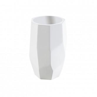 Bicchiere porta spazzolini da appoggio in solid surface di Cip�