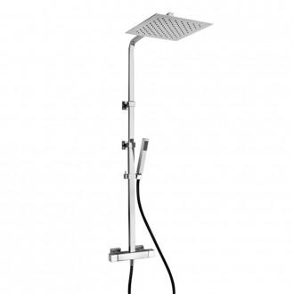 Colonna doccia Jacuzzi | rubinetteria Glint 92 ottone