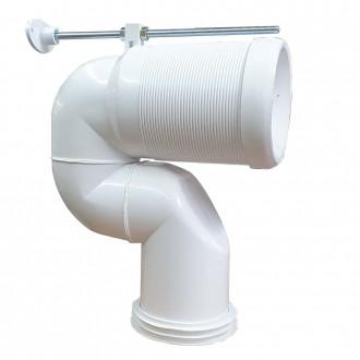 Curva tecnica per vaso traslato regolabile