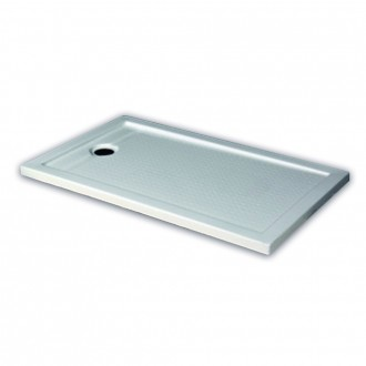 Piatto doccia in acrilico rinforzato Gravena h 6 cm