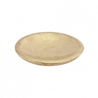 Porta sapone Cipì serie Gold finitura foglia oro