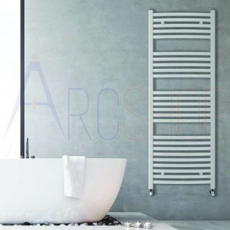 Termoarredo combinato Lazzarini Merano 1600X500 mm bianco curvo design 386276