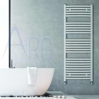 Termoarredo combinato Lazzarini Merano 1600X500 mm bianco curvo design 386276