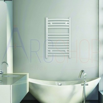 Lazzarini termoarredo Merano 803X500 mm combinato curvo bianco design 386272