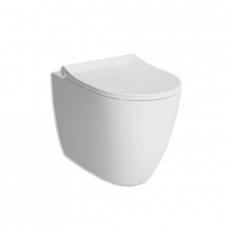 WC Vitra Sento filo muro a terra rimless bianco opaco cod. 7985B001-0075