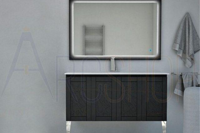 Come scegliere i mobili da bagno stile moderno: meglio sospesi o da terra?